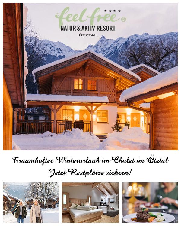 feelfree Resort Ötztal - Winterurlaub Lodges & Chalets Ötz Tirol